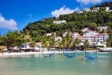 Resort View Water Hammocks