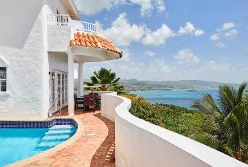 Villa Pool and View